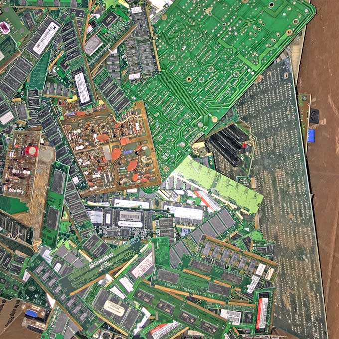 sell gold plated circuit board scrap