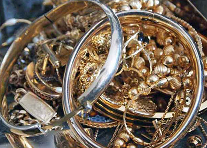 gold jewelry scrap buyers and processors