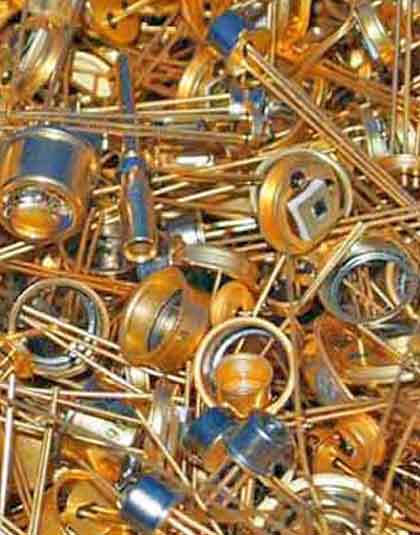 sell gold semiconductor scrap