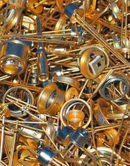 semiconductor gold scrap buyer