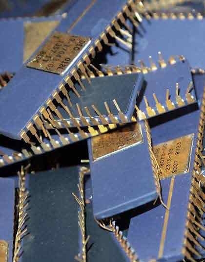 gold plated ic chip buyers