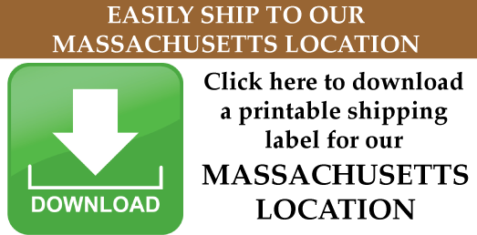 Ship To Precious Metals Reclaiming Service, Massachusetts